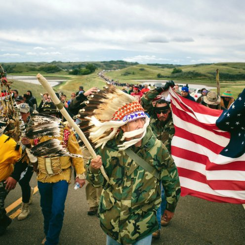 Continuano le proteste dei nativi contro l'oleodotto Dakota Access Pipeline
