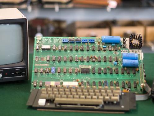 Fossili: ecco l'Apple Computer 1 del 1976.
